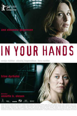 "Poster art for ""In Your Hands."""