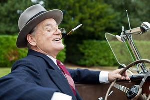 "Bill Murray as Franklin D. Roosevelt in ""Hyde Park on Hudson."""