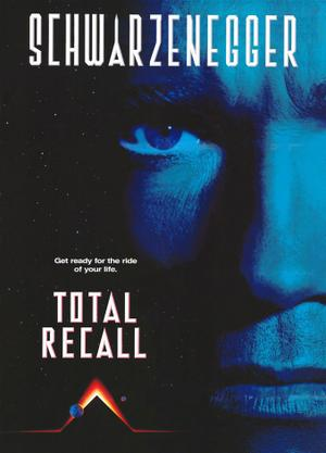 """Poster art for """"Total Recall."""""""