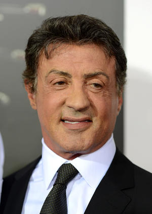 "Sylvester Stallone at the California premiere of ""The Expendables 2."""