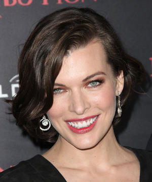 "Milla Jovovich at the California premiere of ""Resident Evil: Retribution."""