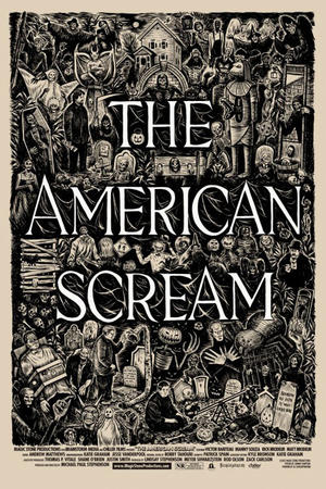 """Poster art for """"The American Scream."""""""