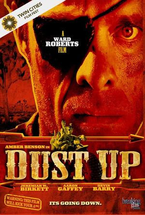 "Poster art for ""Dust Up."""