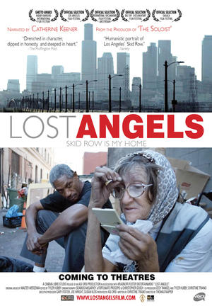"""Poster art for """"Lost Angels."""""""