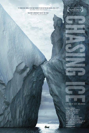 "Poster art for ""Chasing Ice."""