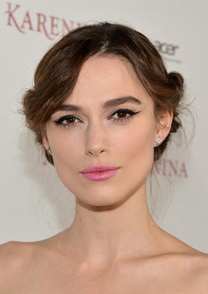 "Keira Knightley at the California premiere of ""Anna Karenina."""