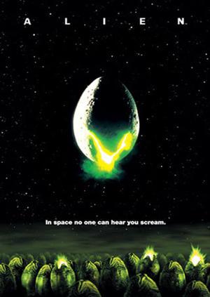 """Poster art for """"Alien."""""""