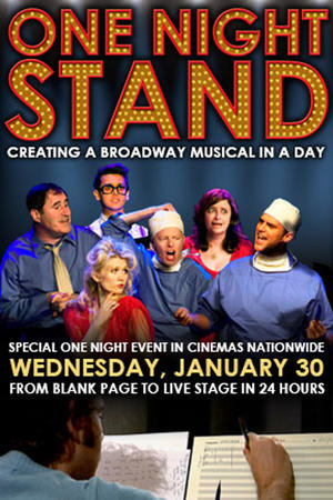 "Poster art for ""One Night Stand."""