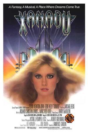"Poster art for ""Xanadu."""