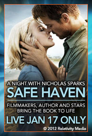 "Poster art for ""Safe Haven"" event."