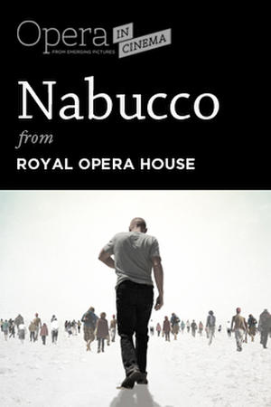"Poster art for ""Nabucco."""