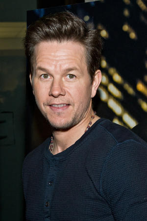 "Mark Wahlberg at the Chicago premiere of ""Broken City."""