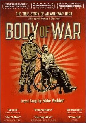 "Poster art for ""Body of War."""