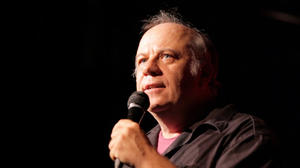 "Eddie Pepitone in ""The Bitter Buddha."""