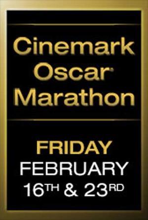 """Poster art for """"Cinemark Oscar Marathon."""""""