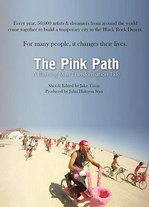 """Poster art for """"The Pink Path."""""""