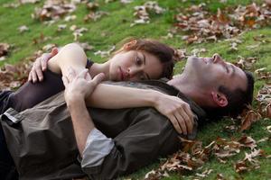 """Olga Kurylenko and Ben Affleck in """"To the Wonder."""""""