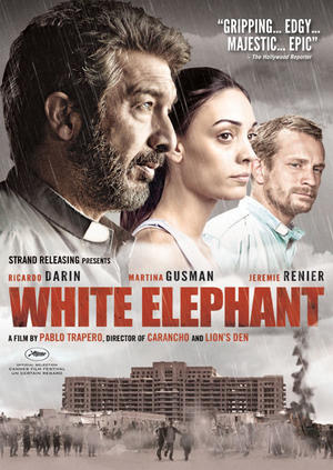 "Poster art for ""White Elephant."""