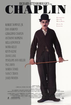 """Poster art for """"Chaplin."""""""