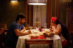 "A scene from ""Ghanchakkar."""