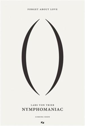 "Poster art for ""Nymphomaniac."""