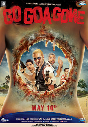 "Poster art for ""Go Goa Gone."""