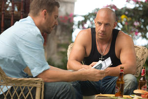 "Paul Walker and Vin Diesel in ""The Fast & Furious 6."""
