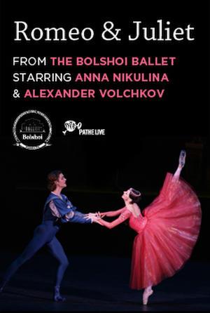 """Poster art for """"Bolshoi Ballet: Romeo and Juliet."""""""