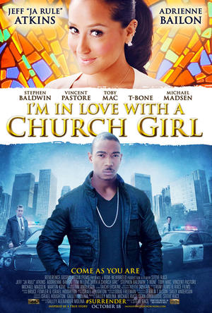 "Poster art for ""I'm In Love With A Church Girl."""