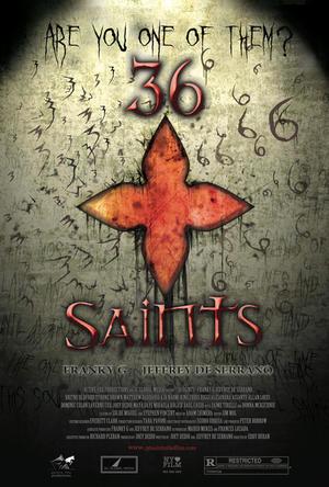 "Poster art for ""36 Saints."""
