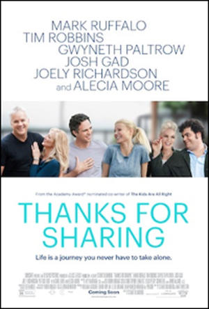 "Poster art for ""Thanks For Sharing."""