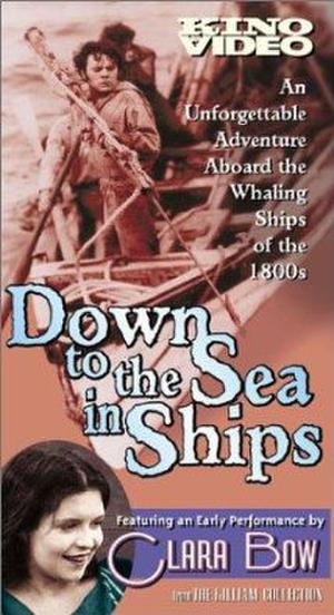 """Poster art for """"Down to the Sea in Ships."""""""