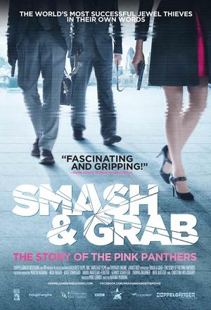 "Poster art for ""Smash & Grab: The Story of the Pink Panther."""
