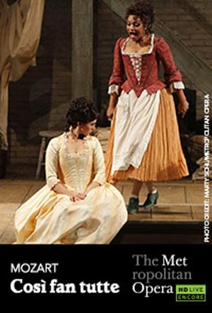 "Poster art for ""The Metropolitan Opera: Così fan tutte Encore."""