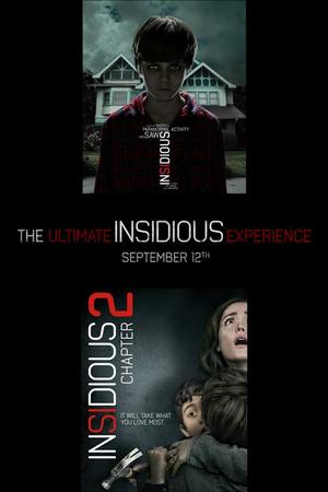 "Poster art for ""The Ultimate Insidious Experience."""