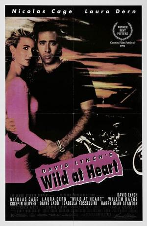 "Poster art for ""Wild at Heart."""