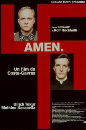 """Poster art for """"Amen."""""""