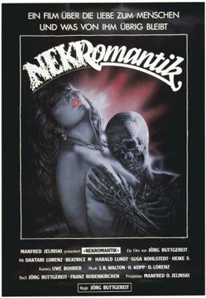 """Poster art for """"NEKROMANTIK."""""""