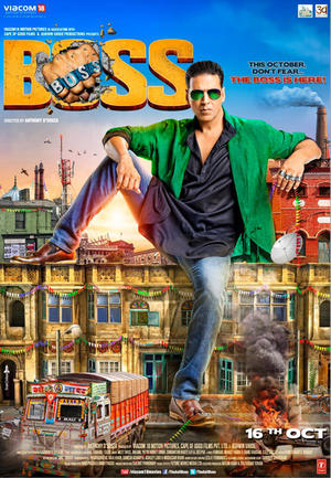"Poster art for ""Boss."""
