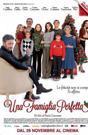 "Poster art for ""A Perfect Family."""