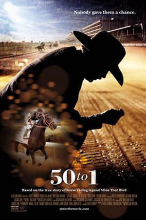 "Poster art for ""50 to 1."""