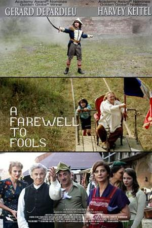 """Poster art for """"A Farewell to Fools."""""""