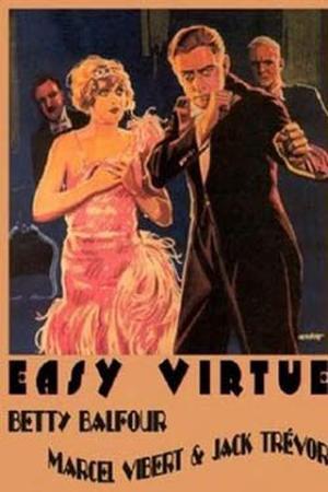 """Poster art for """"Easy Virtue."""""""
