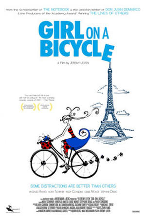 "Poster art for ""Girl on a Bicycle"""