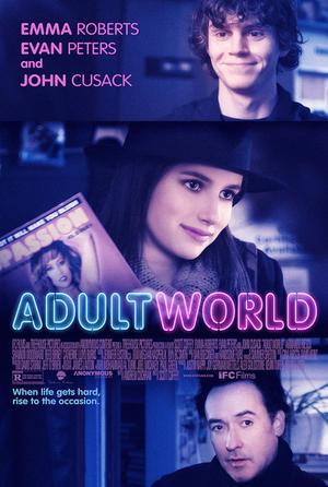 "Poster art for ""Adult World."""