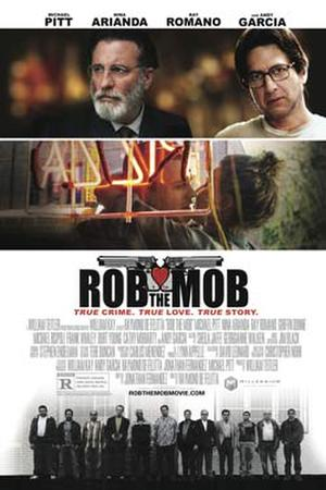 "Poster art for ""Rob The Mob."""