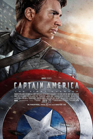 "Poster art for ""Captain America"""