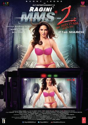 """Poster art for """"Ragini MMS 2."""""""