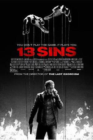 "Poster art for ""13 Sins"""