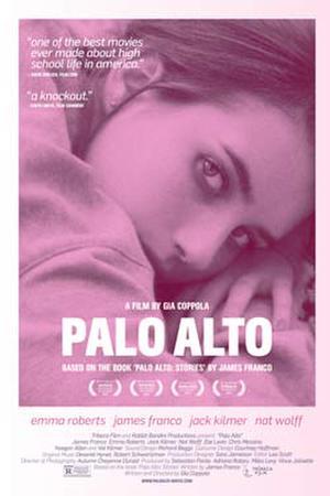 "Poster art for ""Palo Alto."""